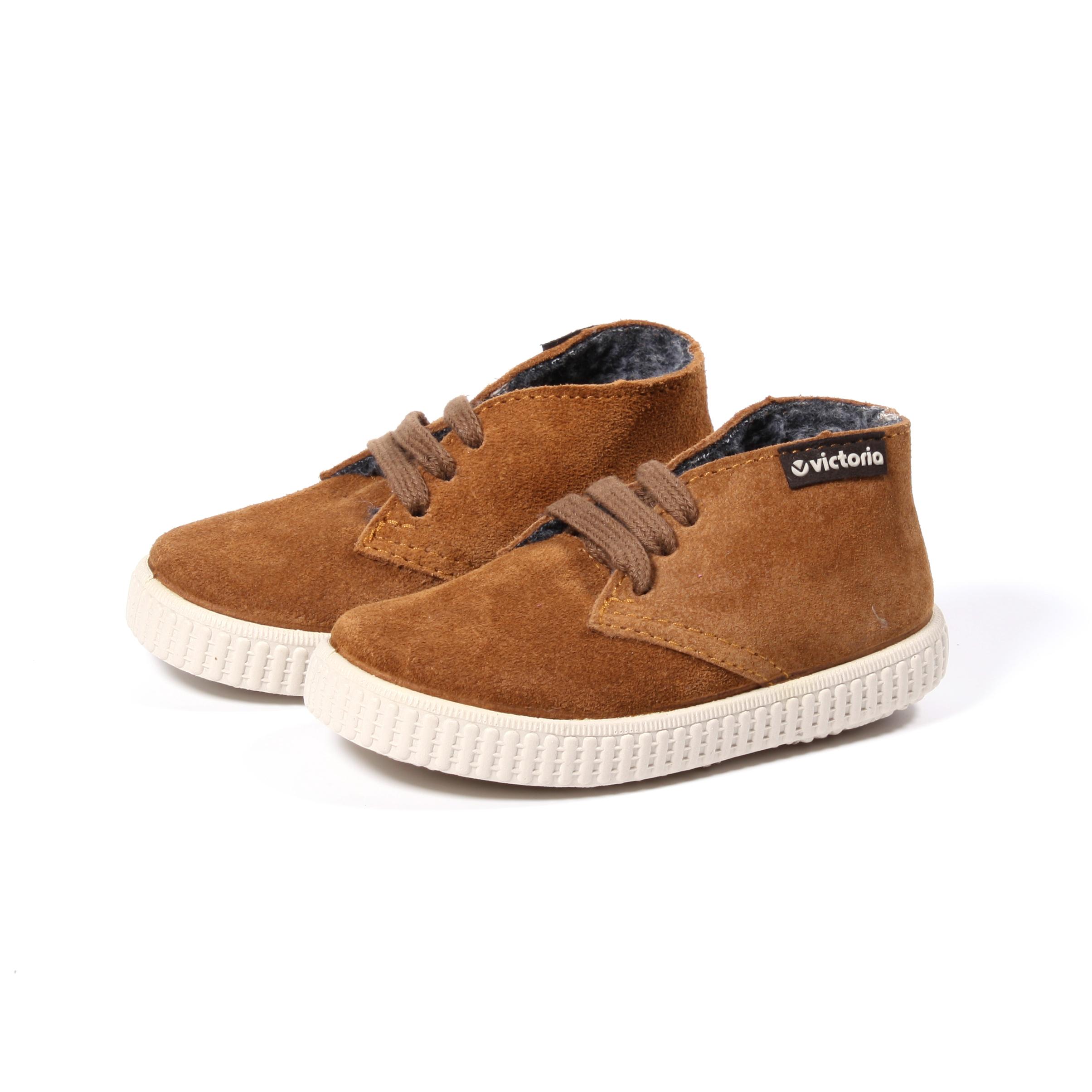 Zapatos marrones infantiles qEoW1dPW